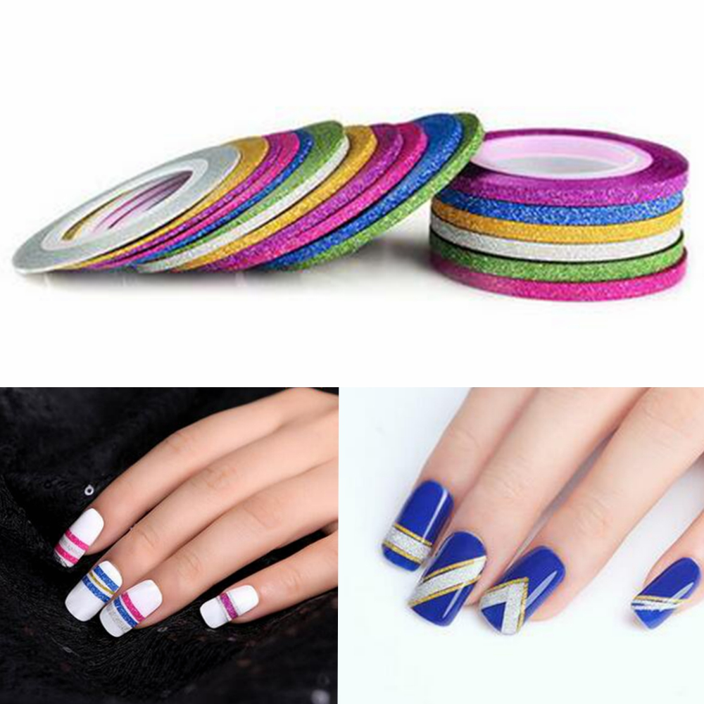 Aliexpress.com : Buy Glitter 3mm Matte Manicure Decals