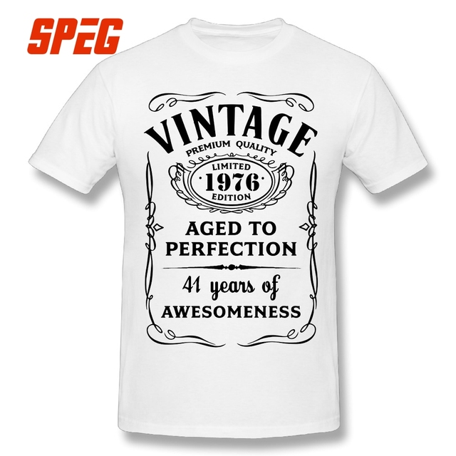 T Shirt Men Vintage Limited 1976 Edition