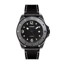 Parnis Outdoor Seriers Luminous Mens Sapphire Glass Ceramic Bezel 100m Waterproof Sport Automatic Mechanical Watch Wristwatch