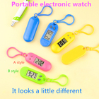 Electronic Pet Watch Led Student Men and Women Multi-functional Watch Key Chain Gift Backpack Hanging Watch Toy