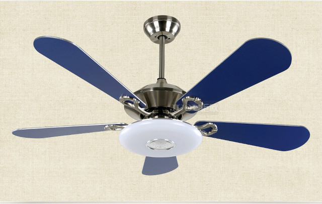 42 inch 110cm led patch two color light source 24w blue electric fan 42 inch 110cm led patch two color light source 24w blue electric fan light metal mozeypictures Images