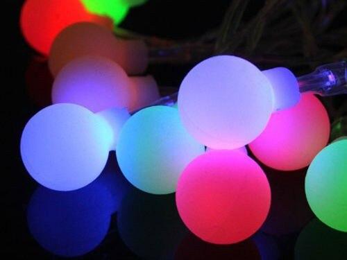 Fée 100 m 600 LED luminaria décoration guirlande boule chaîne lumières noël nouvel an vacances fête mariage luminarias lampes - 4