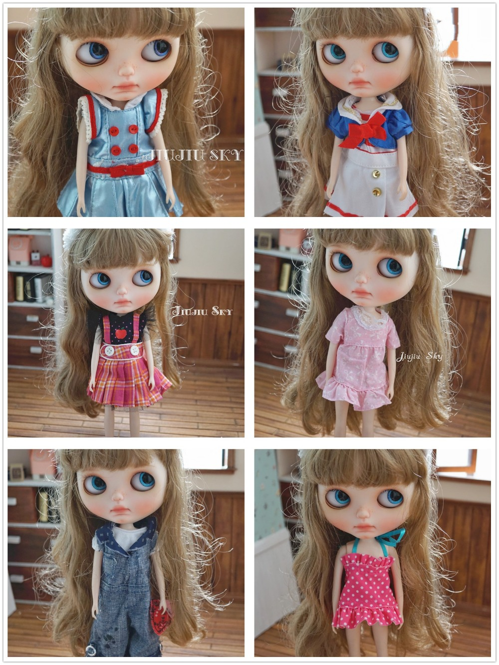 Free Shipping doll Accessories Doll clothes For Blyth Licca Azone Doll Toys Hot