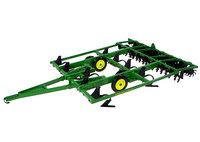KNL HOBBY J Deere Farm Tractor Major Reclamation Machine Parts Agricultural Vehicle Model Gift ERTL 1