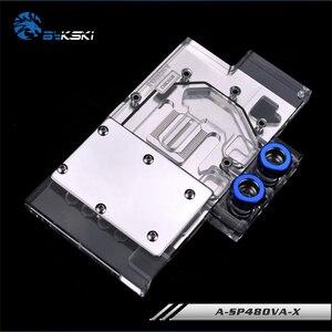 Image 2 - Bykski A SP48OVA X, полноэкранная Графическая карта, блок водяного охлаждения RGB/RBW для Sapphire RX480/470, Pulse RX580