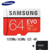 SAMSUNG Micro SD Card 256G 128GB 64gb 32g 100M S Class10 U3 4K UHD Memory Card