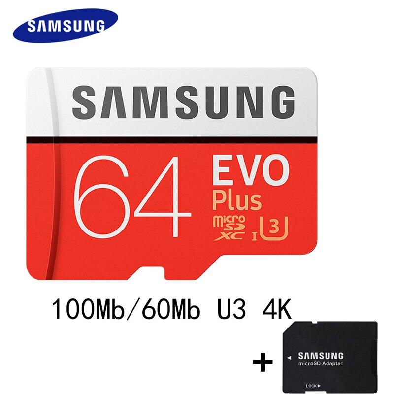 SAMSUNG 100Mb s Memory font b Card b font 128GB 64gb 32gb 256gb Micro SD font
