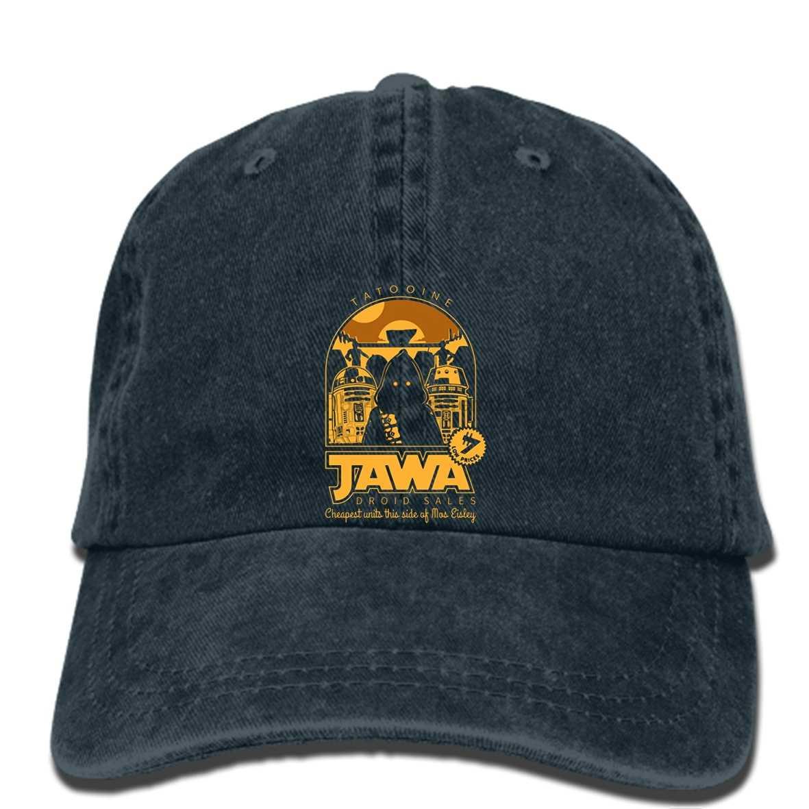 superior quality e5ba2 1c8ab hip hop Baseball caps Free Shipping Cool Jawa Droid Sales Star Tattooine  Wars R2D2 Cp3O 3D