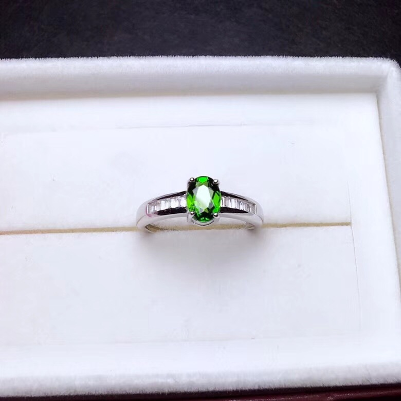 HTB1uhrjbcfrK1RkSnb4q6xHRFXa7 - Natural Tested Diopside Rings for Women  925 Sterling Silver