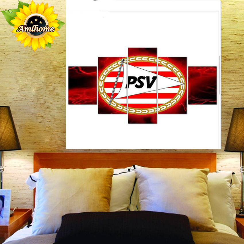 "Full Square Diamond Painting ""Football LOGO AJAX PSV FEYENOORD"" 5D DIY Multi-picture Combination Embroidery Mosaic"