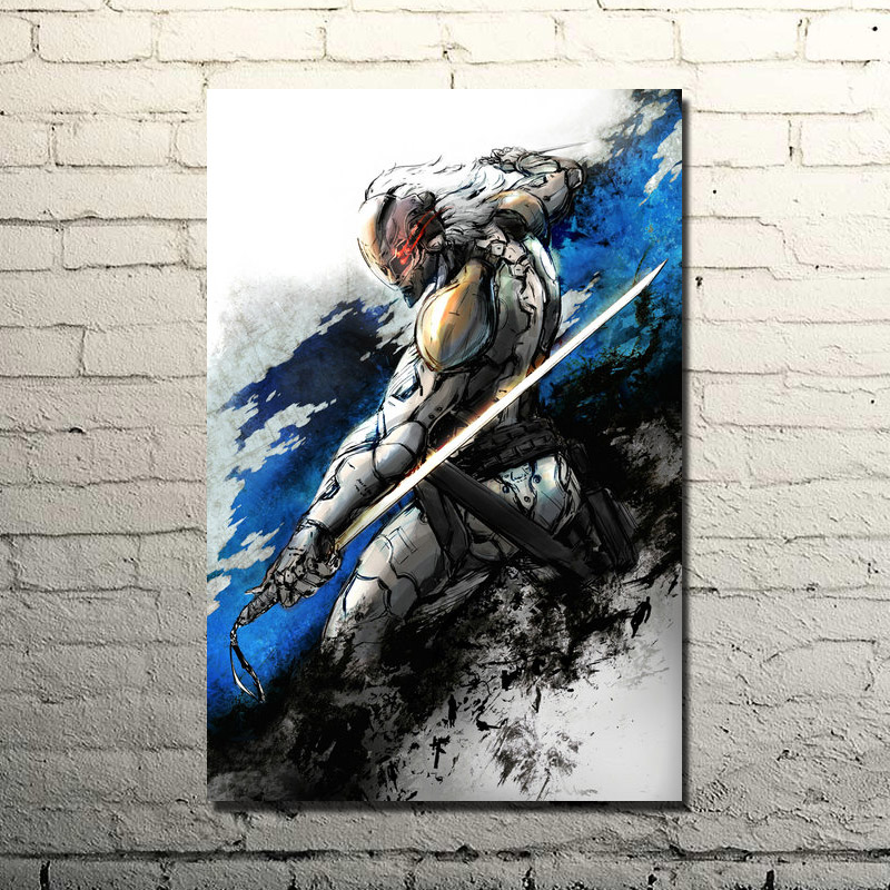 Us 4 49 25 Off Metal Gear Solid V The Phantom Pain Silk Wall Poster Art Print 13x20 24x36 Inch Solid Snake Gme Pictures Click To See More 1 In