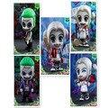 5 pcs Funko Pop do Esquadrão Suicida Boomerang Batman Joker Harley Quinn Deadshot Rick Katana Collectible Vinil Figura Modelo 3 cm