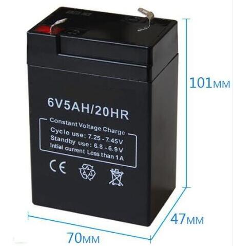 6V 14ah Rechargeable SLA Battery BatteryGuy PS-670 2P