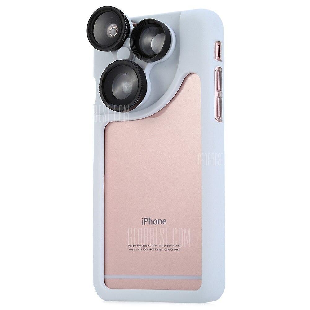 b4139aef9df31f Goestime футляр телефон защитный чехол для iPhone 6 плюс объектив чехол с  объективом для iPhone 6 s объектив для iPhone 6 объектива камеры телефона  крышка ...
