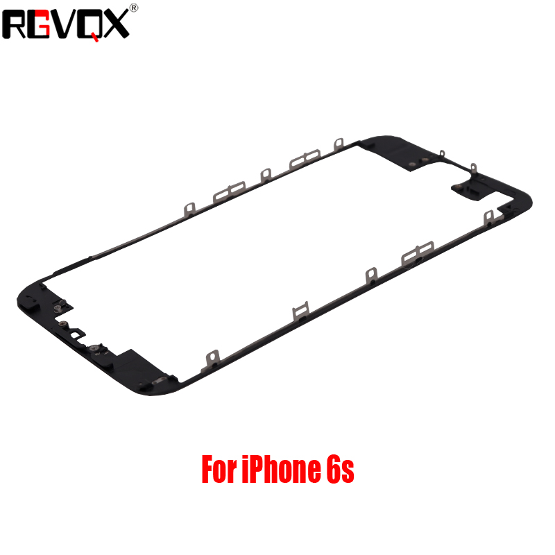 New LCD Touch Screen Front Frame Middle Bezel For iPhone 5 5S 5C 6 6S Plus 3M Adhesive Bracket Holder in Mobile Phone Housings Frames from Cellphones Telecommunications