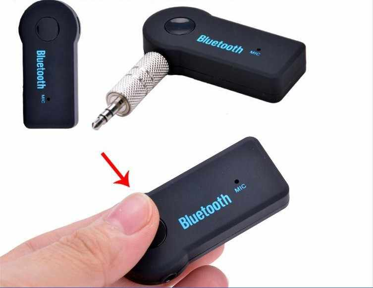 Sccjgl Nirkabel Mobil Bluetooth Audio Adaptor 3.5 Mm AUX Audio Stereo Musik Rumah Mobil Receiver Adaptor