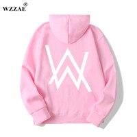 WZZAE Fashion Men Sweatshirts Music DJ Divine Comedy Alan Walker Faded Coat Hoodies Sweatshirts Men Pullovers
