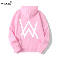 WZZAE Fashion Men Sweatshirts Music DJ Divine Comedy Alan Walker Faded Coat Hoodies Sweatshirts Men Pullovers