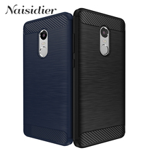 Shockproof TPU Phone Soft Case for Xiaomi Xiomi Xaomi Xiami Redmi Note 4 4X  Business Silicone Cases for Redmi Note 4 4 X 5.5""