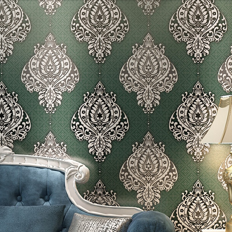 beibehang grain buckskin damask wallpaper for walls 3 d wall paper living room papel de parede 3d bedroom wall papers home decor european luxury reliefs 3d wallpaper black damask floral wall paper living room bedroom wallpaper for walls 3d papel de parede