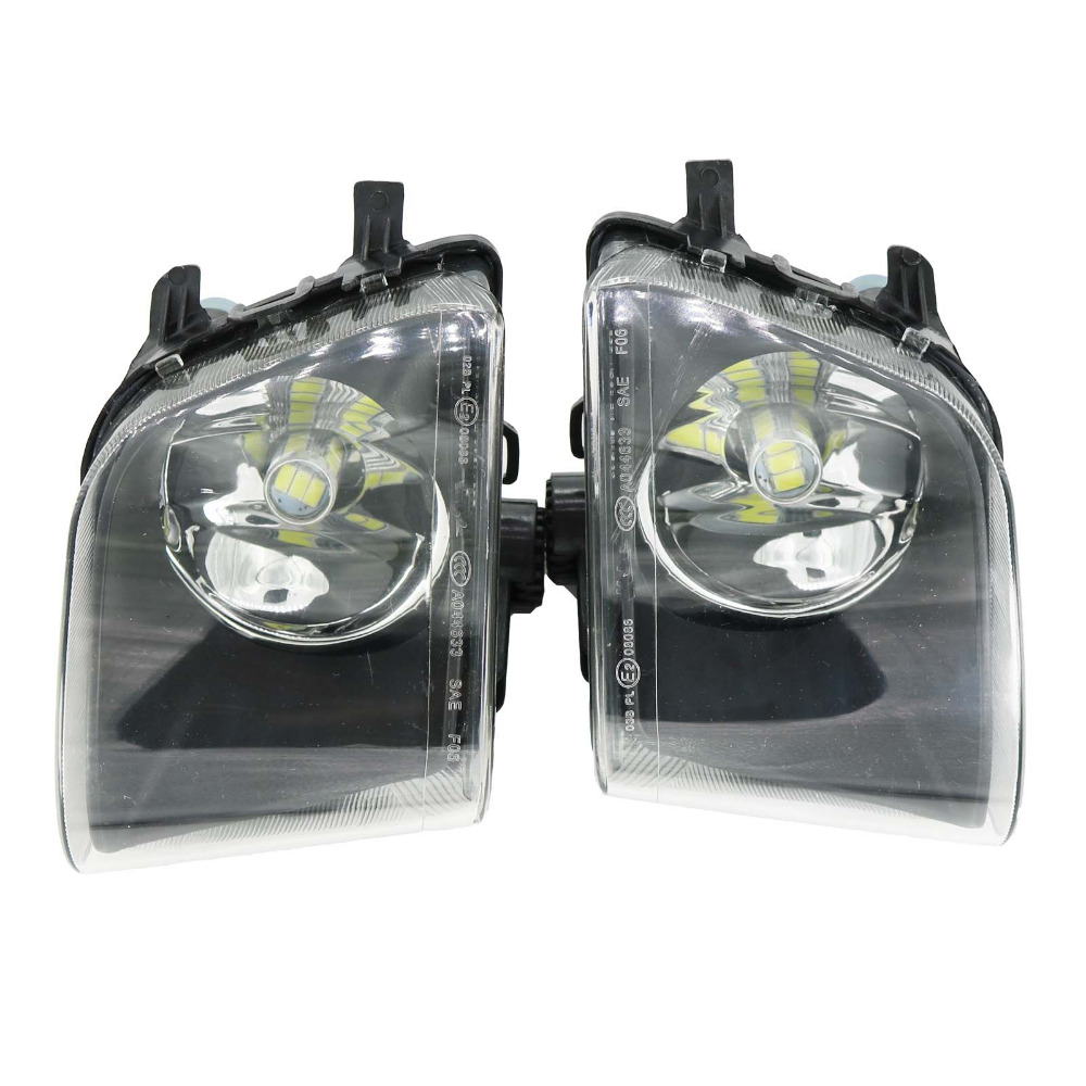 2Pcs Car Light For BMW F01 F02 740i 750i 740Li 750Li 760Li 2009-2013 Car-styling Front LED Fog Light Fog Lamp 2pcs white daytime running lights drl led fog lamp for bmw 7 series f01 f02 730i 740i 750i 760i 2009 2012