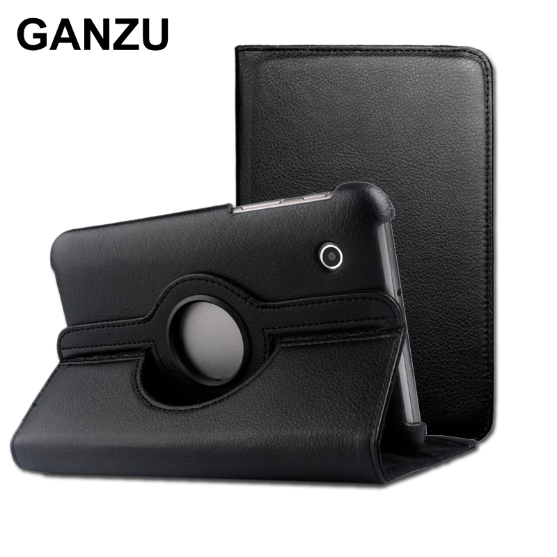 Rotating 360 PU Leather Case Cover For Samsung Galaxy Tablet 7 7 inch P6810 P6800 High