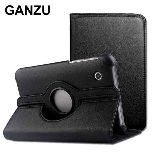 1eda15cb0e7 Rotating 360 PU Leather Case Cover For Samsung Galaxy Tablet 7.7 inch P6810  P6800 High Quality Books Case With Stand Holster