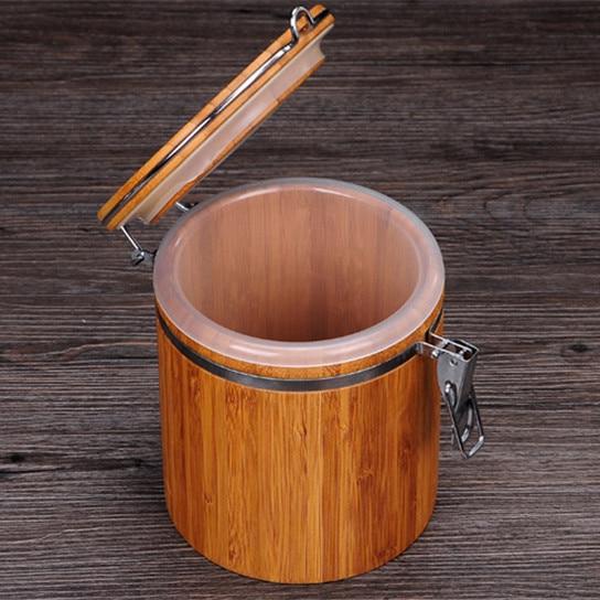Natural Bamboo Storage Box 4