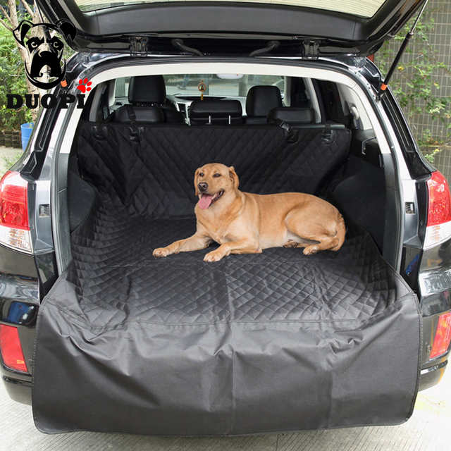 Soft SUV Foldable Waterproof Dog Car Seat Cover Hammock For Dogs In Pet Carriers Truck
