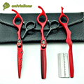 "6"" barber shop supplies hair scisors hairdressing salon supplies professional hair cutting shears hair thinning scissors pinking"