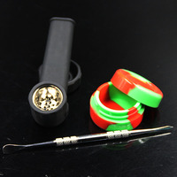 New Silicone Tobacco Pipes Silicone Smoking Pipes VS Glass Water Pipes Glass Bubblers For Smoking Pipe Free Shipping