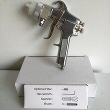 SAT1182 profesyonel diy araçları yüksek kaliteli boya püskürtme tabancası krom araba boyama için boya püskürtme tabancası pnömatik makine araçları