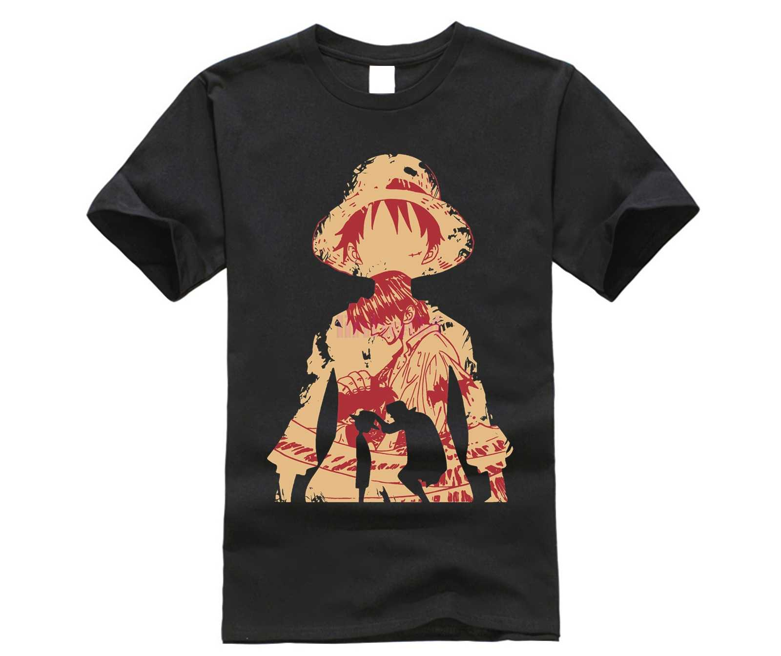 b3e4df6e7 Detail Feedback Questions about Luffy and Shanks One Piece T Shirt on  Aliexpress.com | alibaba group