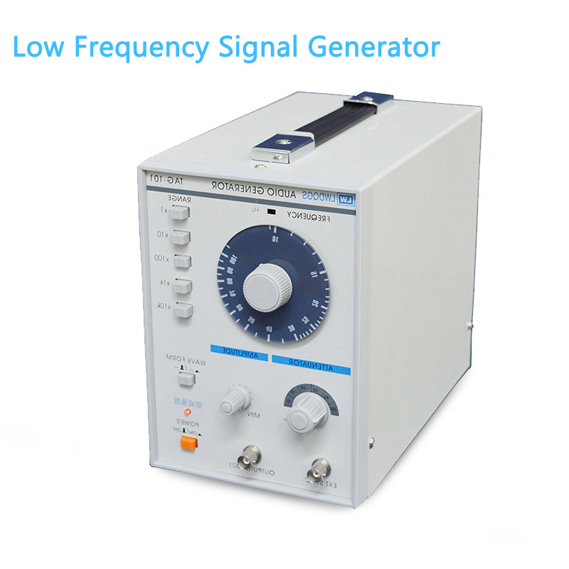 LW TAG101 low frequency high performance signal generator 10HZ-1MHZ high precision signal audio for signal generator 10hz 1mhz low frequency function signal audio generator producer rek rag101