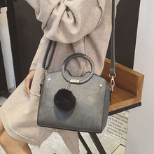 Women HandBags 2016 New Design Vintage handbag Large Bag Grey Women's Messenger Bag Large Capacity All-match