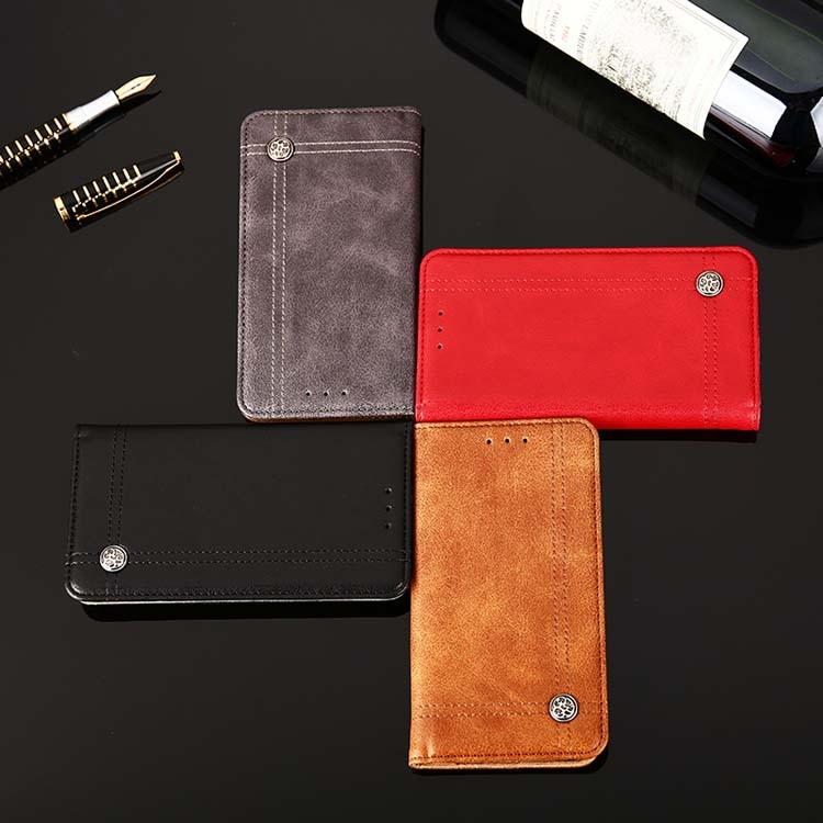Cross Pattern Wallet Pu Leather Phone Case For Google Pixel 2
