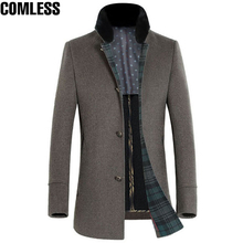High Grade Winter Jacket Men Casual Wool Coats Double-sided High-quality Material Men's Busniess Outerwear Windbreaker Clothing