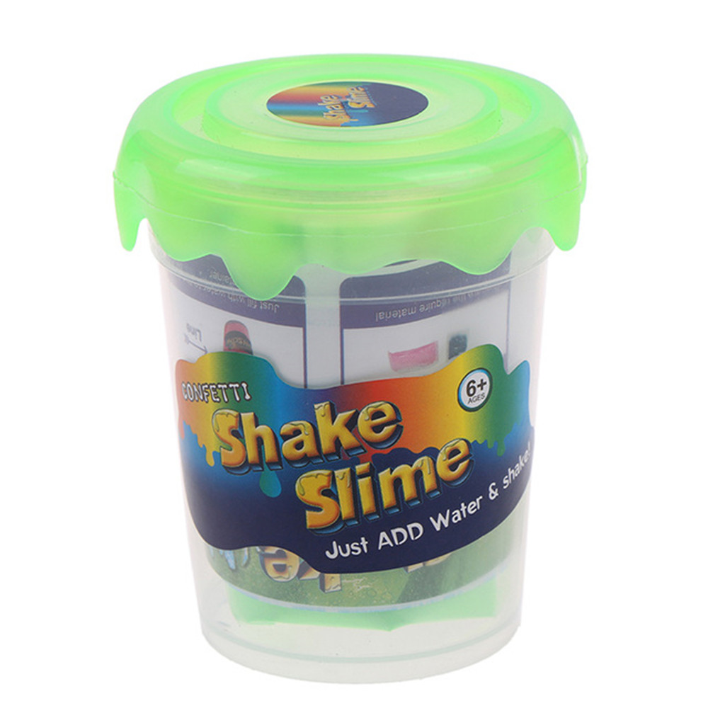 Magic Slime Polymer Clay Make 80ml Addition For Glitter Slime Shake DIY Slime Toys Kit With Box Just Add Water Clay/Slime Gifts