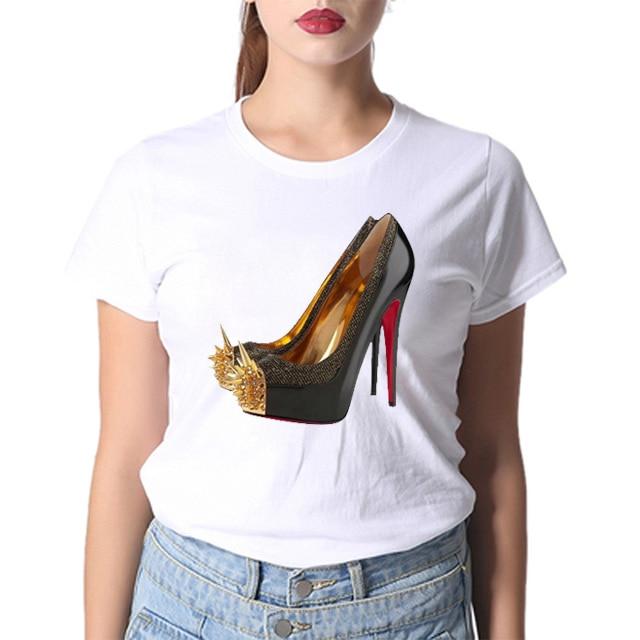 FIXSYS Summer Women T Shirt Fashion T-Shirt Women Short Sleeve T-Shirt Casual Tee Cotton T-Shirt Cute Tee White Woman Tops Tee