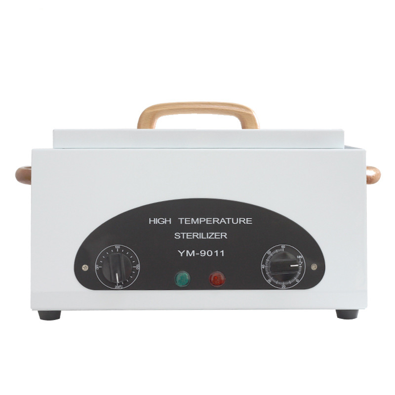 Professional High Temperature UV Sterilizer Box With Dry Heat Disinfection Cabinet For Nail Gel Manicure Art Salon Equipment nail salon sterilizer hot air disinfection cabinet for hairdressing tattoo manicure tool in beauty spa