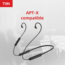 TRN BT3S Upgrate Wireless Bluetooth 4.2 APT-X  0.75/0.78/MMCX Cable HIFI Earphone 2PIN/MMCX Use For TRN  V10 V20 V80 SE215 535 цена