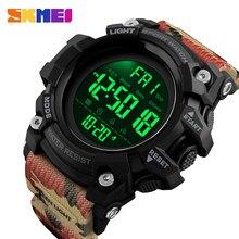 SKMEI odporny na wstrząsy 2 czas zegarek sportowy stoper odliczanie męskie zegarki cyfrowe wodoodporny miękki zegar dla mężczyzn reloj hombre 1384