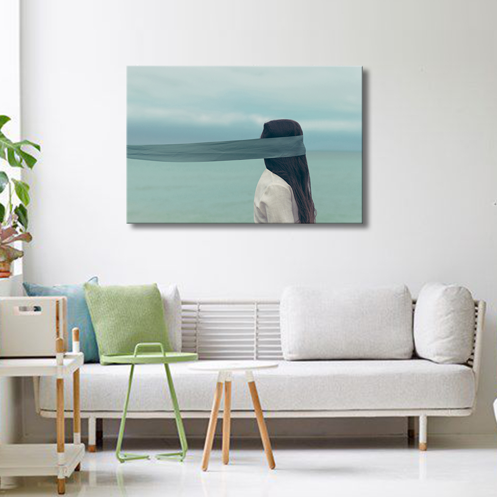 Photography Wall Art Home Decor ~ Unframed contemporary photography female portrait picture