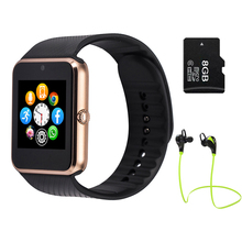 Mehrsprachige! Smart Watch gt08 Clock Sync Antragsteller unterstützt sim-karte bluetooth für apple iphone android-handy SmartWatch uhr