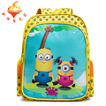 New kids anime Despicable Me mochila bag printing full color student backpacks child schoolbag cartoon minion backpack