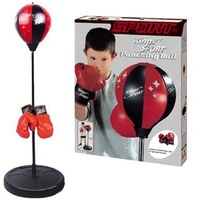 43 Sports Boxing Punching Bag With Gloves Punching Ball Speed Balls For Kids