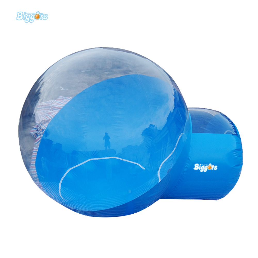 Free Delivery Infaltable Single Tunnel Transparent Bubble Tent Kids Tent Toy