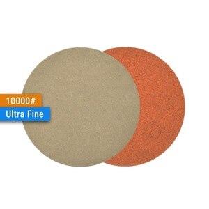 Image 5 - 3 дюйма (75 мм), 60/240/600/1000/5000/10000 Grits, водонепроницаемые шлифовальные диски с липучкой, 3 дюйма, набор ручных шлифовальных дисков для влажной/сухой полировки