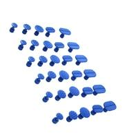 30Pcs Car Dent Removal Body Repair Kit Auto Body Dent Repair Tool Pulling Tabs Glue Pulling