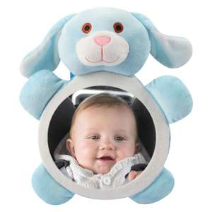 Rearview-Mirror Safety-Seat Baby for Kids Cars-Accessories Headrest Adjustable Mini Wide-View